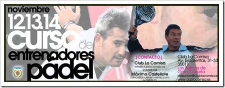 Curso Entrenadores Padel Castellote y Nicolini en Canarias