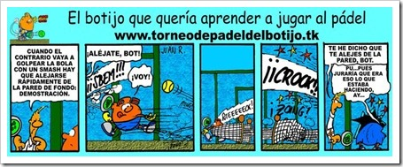 Bot el Botijo, El botijo que queria aprender a jugar al pádel_1