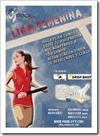 Cartel Liga Femenina para web drop shot 2011