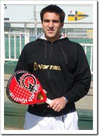 Ander Batarrita con VORTEIL Padel 2011