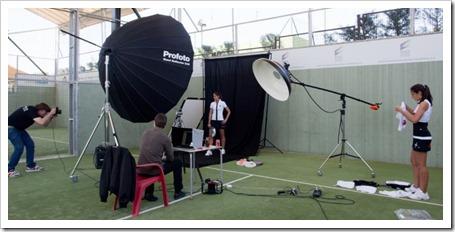 Sesion Fotos Star Vie club maspadel 2011 con jugadores de la marca [800x600]
