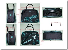 BOLSO DROP SHOT STYLE 2011