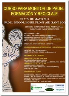 Curso para monitores de pádel: formación y reciclaje impartido por Pablo Aymà
