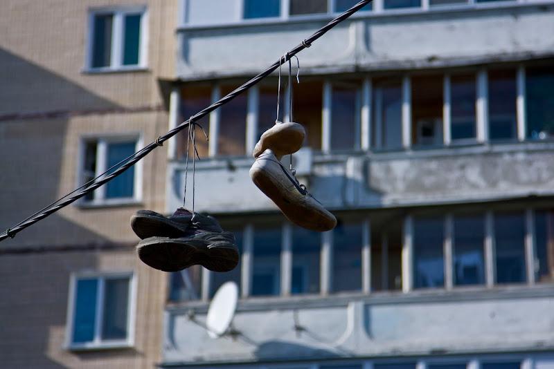 Улица летающей обуви 3