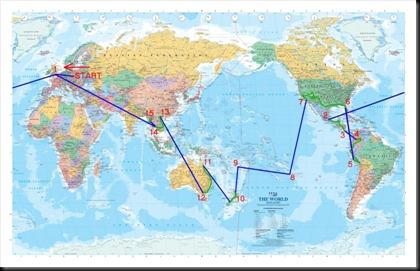 Planowana trasa naszej podróży