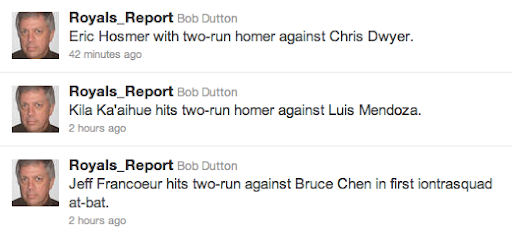 Dutton Long Ball Tweets