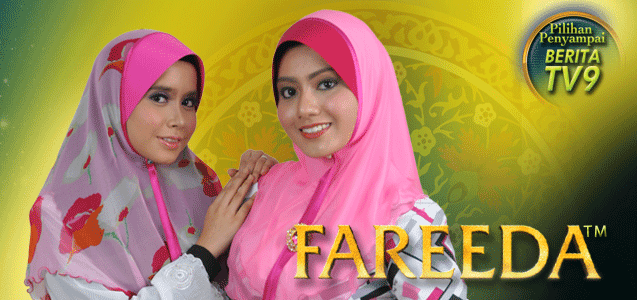 Rekabentuk Tudung Fareeda