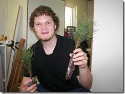 Tree Seedlings from our Wedding | June 2009
