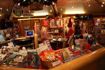 Tienda de la oficina postal de Santa Claus