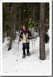 Mt Hood Snowshoeing-87