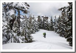 Mt Hood Snowshoeing-145