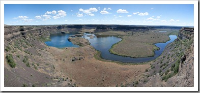 Dry Falls Panorama