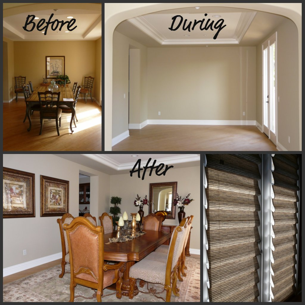 Before & After - Dining Room