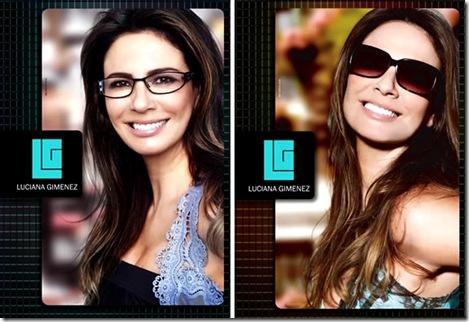 A apresentadora Luciana Gimenez acaba de lançar a sua nova linha de óculos  de sol, em parceria com as óticas Diniz. A coleção estará em breve nas  lojas  ... 64ddf9fbb2