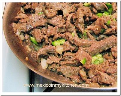 bisteces a la mexicana