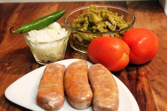 Chorizo con Nopales2