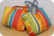 Eco Beach Tote Back
