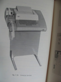 Terminal de ordenador de hace unos años.