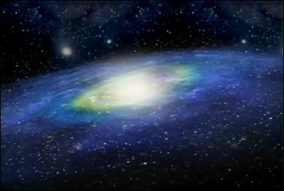 Tidakkan engkau saksikan bagaimana bintang-bintang beredar pada orbit masing-masing di dalam galaksi mereka?