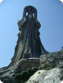 Virgen de la Roca de frente
