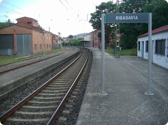 Estação de Trem de Ribadavia