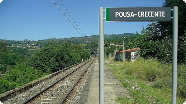 Estação de Trem Pousa-Crecente