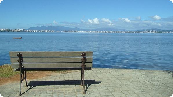 Vista desde a Praia de Cacupé