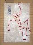 Ice Climbing 1 - Cascata di Ghiaccio - acrilico su cartone - 23x32 cm - 2008
