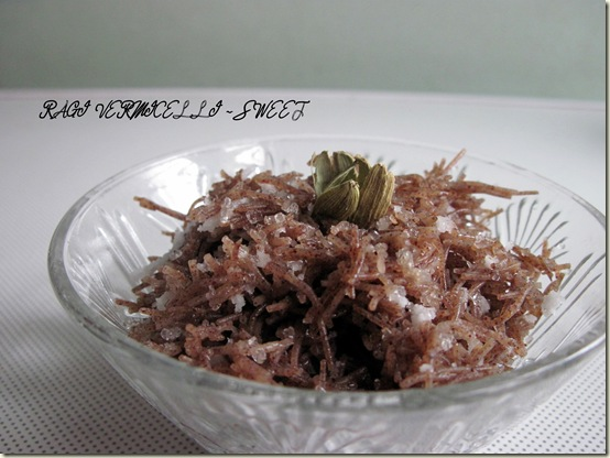 RAGI VERMICELLI - SWEET