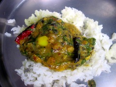dal spinach