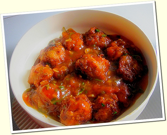 Veg manchurian