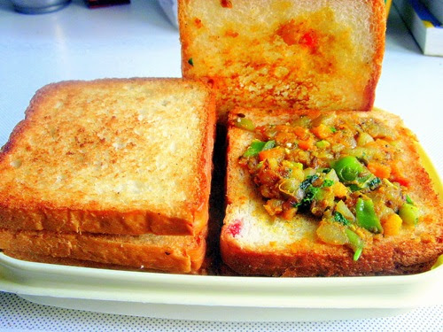 how to prepare bread sandwich
