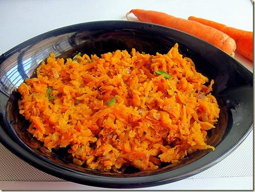 Carrot puttu
