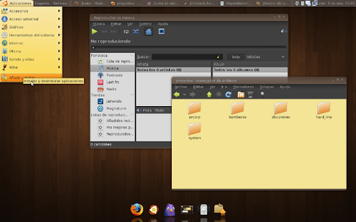 Willibox Gnome Desktop theme