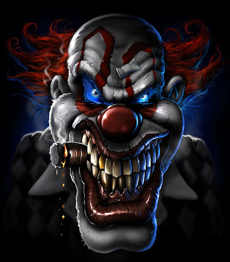 25 Clown Images in Their Evil
