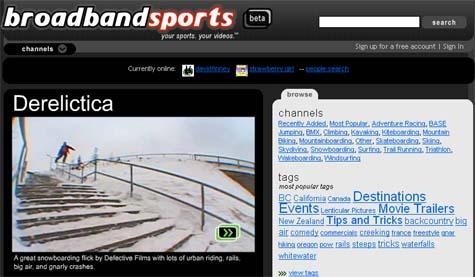 BroadbandSports - Watch sports and matches Online