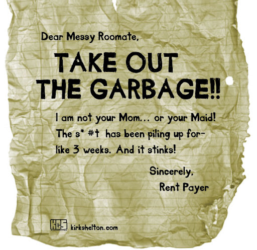 Take Out The Garbage : curvie Handwritten font