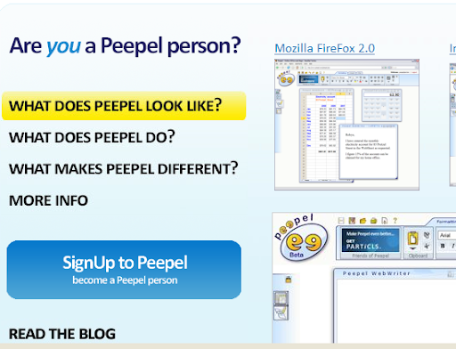 Peepel - MS office Word Alternative