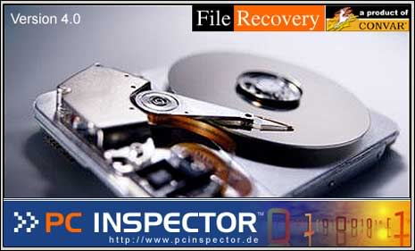 PC inspector Top 10 FREE Data Recovery Software