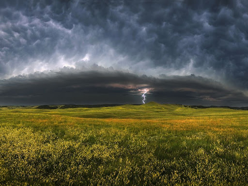 Storm Clouds, South Dakota - Landscape photography