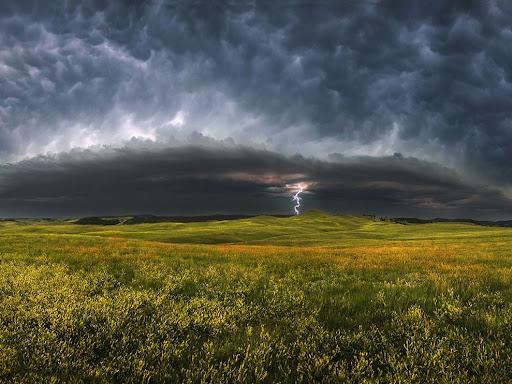 Storm Clouds, South Dakota - Landscape photography