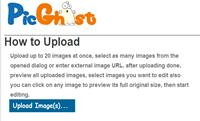 Picghost Mass image editor