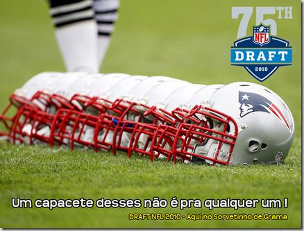 Capacete Patriots - Draft 2010