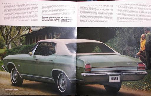 1969 Chevelle Concours Sport