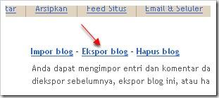 eksport blog