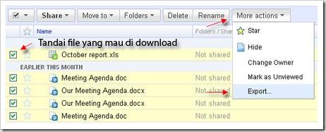 export google docs
