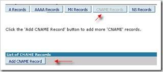 cname records