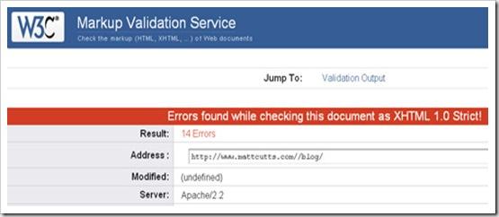 mutt cutts blog invalid html