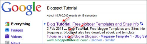 blogspot tutorial