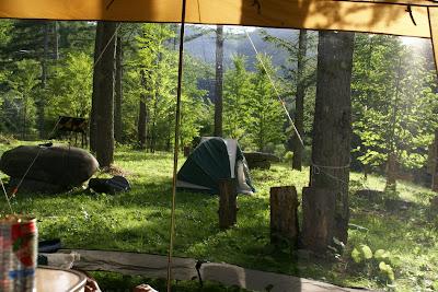 いつか家族でいった長野キャンプ